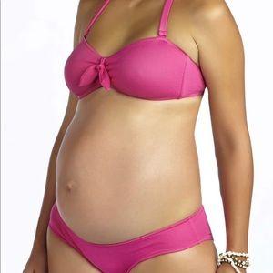 Pez D'or BLUE Maternity Bikini
